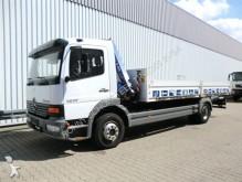 used Mercedes flatbed trailer