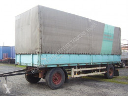 used Krone flatbed trailer