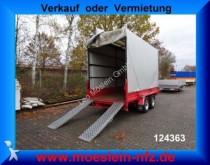 Humbaur Tandemtieflader trailer