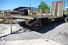 SOR Porte engins Plateau 2 essieux trailer