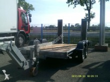 used Ecim heavy equipment transport trailer