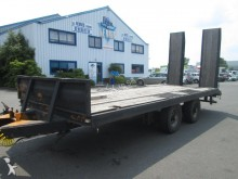 used Demico heavy equipment transport trailer