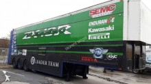 used Trouillet car carrier trailer