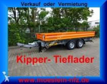 Moeslein Tandem Kipper Tieflader Neufahrzeug trailer