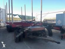 used Fruehauf timber trailer