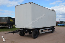 used Sommer box trailer