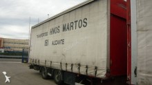 used Samro tarp trailer