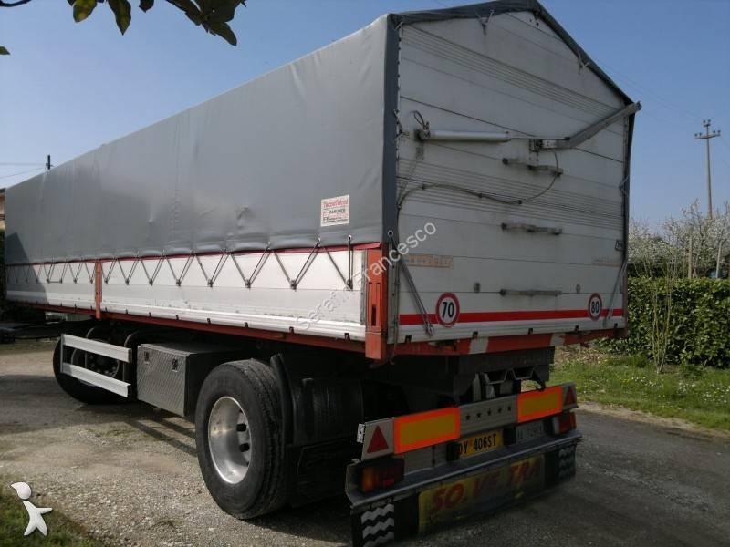Rimorchio andreoli ribaltabile trasporto cereali 2 assi 2 for Rimorchi ribaltabili trilaterali usati