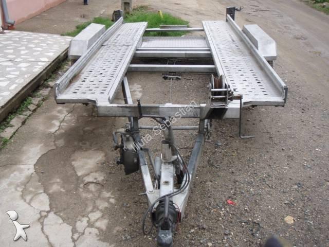 gebrauchter barthau anh nger autotransporter platforma transport auto trailer 2 achsen n 859204. Black Bedroom Furniture Sets. Home Design Ideas