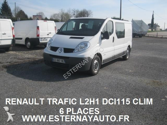 used renault trafic cargo van renault trafic l2h1 dci115 6. Black Bedroom Furniture Sets. Home Design Ideas