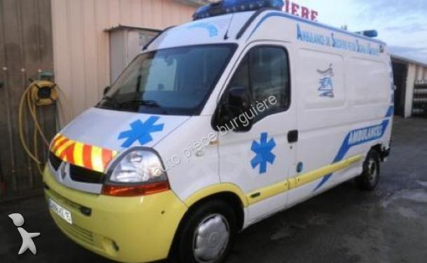 ambulance renault master ambulance 2 5 occasion n 1398899. Black Bedroom Furniture Sets. Home Design Ideas