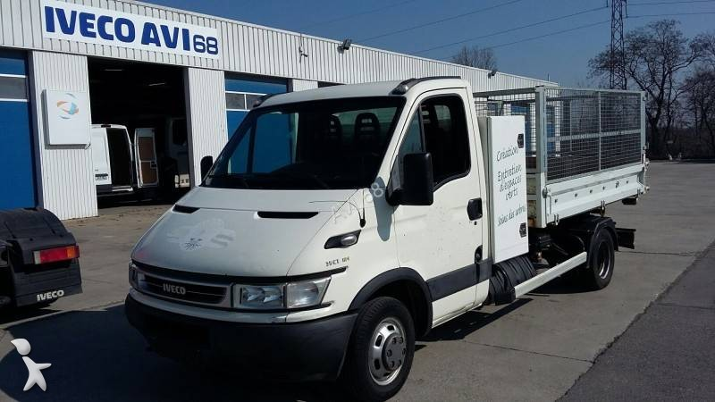 utilitaire benne ampliroll occasion iveco daily 35c12. Black Bedroom Furniture Sets. Home Design Ideas