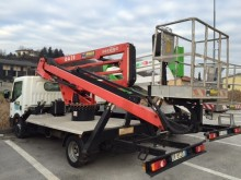 used Socage telescopic platform commercial vehicle