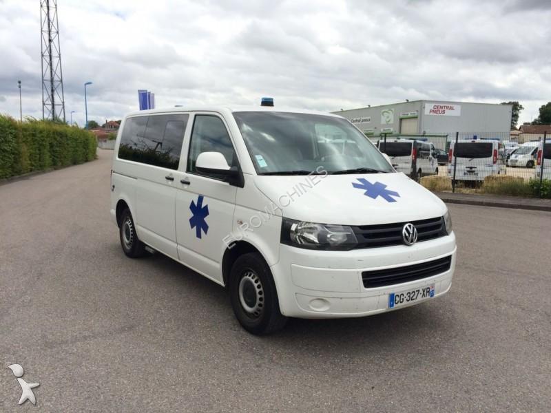 ambulance volkswagen t5 occasion n 1715039. Black Bedroom Furniture Sets. Home Design Ideas
