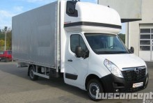 new Opel curtainside van