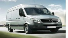 new Mercedes cargo van