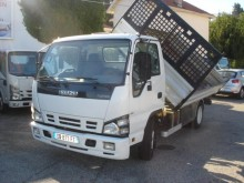 used Isuzu three-way side tipper van