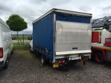 used Iveco curtainside van