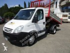 used Iveco three-way side tipper van