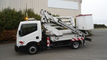 Nissan telescopic articulated platform commercial vehicle