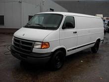 utilitario furgón Dodge usado