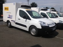 used Citroën negative trailer body refrigerated van