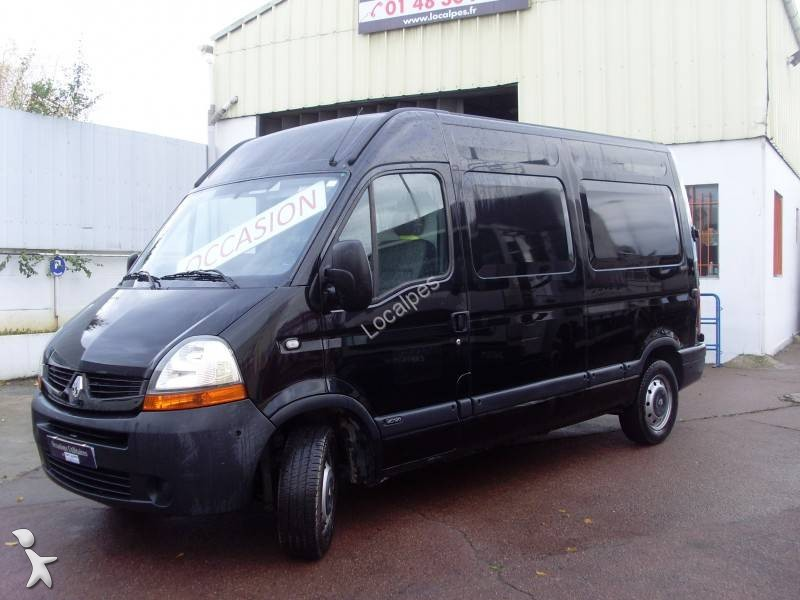 fourgon utilitaire renault master 120 dci 4x2 occasion n 1806945. Black Bedroom Furniture Sets. Home Design Ideas