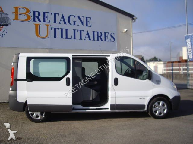 fourgon utilitaire renault trafic l2h1 115 cv double. Black Bedroom Furniture Sets. Home Design Ideas