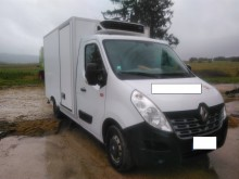 used Renault positive trailer body refrigerated van