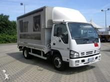 used Isuzu tarp covered bed flatbed van
