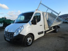 used Renault three-way side tipper van