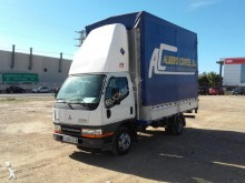 used Mitsubishi curtainside van