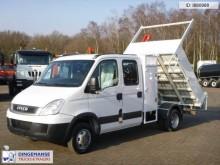 Iveco 35c13 Crewcab 4x2 tipper + HMF 2011