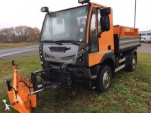 used Bucher Schoerling three-way side tipper van