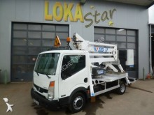 Nissan articulated platform commercial vehicle