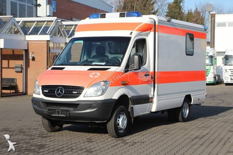 ambulance mercedes sprinter 418 cdi 4x4 occasion n 1905165. Black Bedroom Furniture Sets. Home Design Ideas