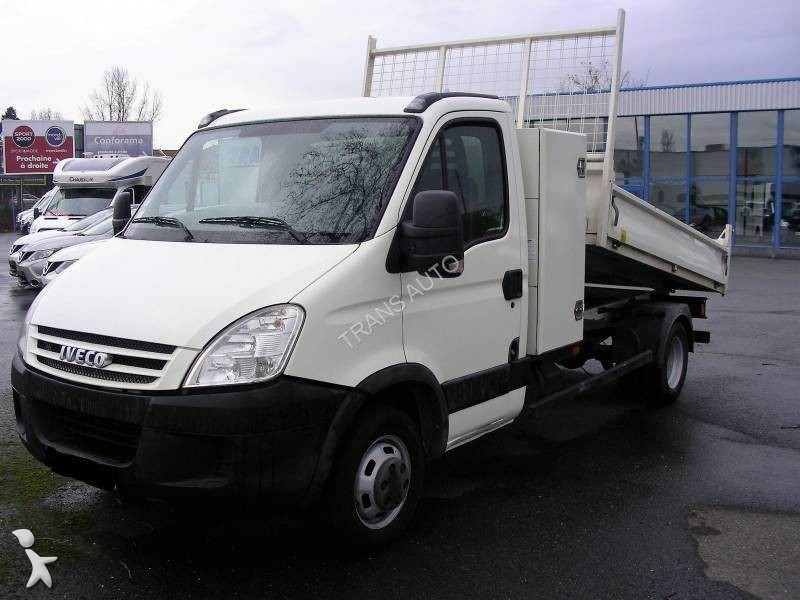 Utilitaire benne iveco daily 35c12 occasion n 1908069 for Garage utilitaire toulouse