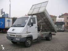 used Renault three-way side tipper van