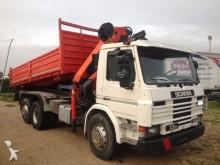 used Scania tipper van