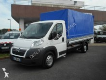 used Citroën tarp covered bed flatbed van