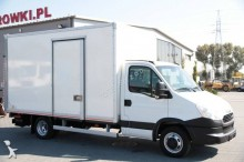 used Iveco positive trailer body refrigerated van