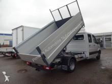 used Mercedes three-way side tipper van