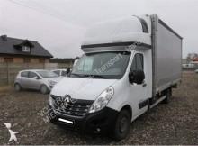 used Renault curtainside van