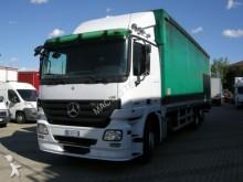 used Mercedes tarp covered bed flatbed van