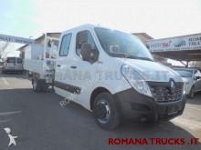 Renault Master doppia cabina cassone fisso + gru pronta consegna