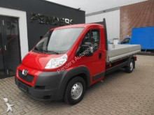 used Peugeot dropside flatbed van