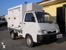 used Piaggio negative trailer body refrigerated van