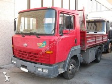 used Nissan three-way side tipper van