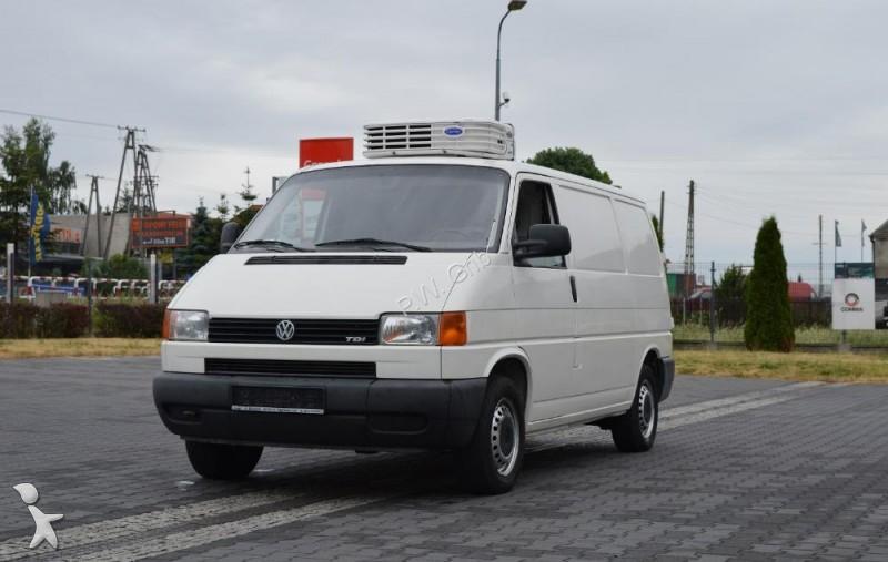 utilitaire frigo volkswagen isotherme t4 t4 transporter tdi ch odnia carrier occasion n. Black Bedroom Furniture Sets. Home Design Ideas