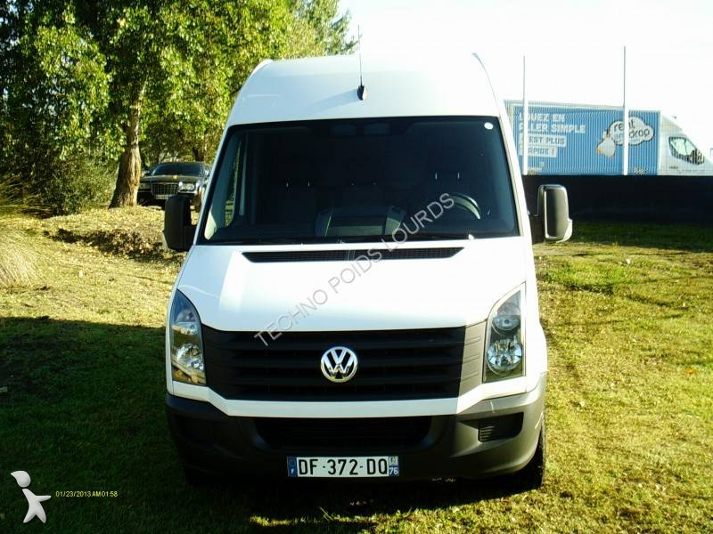 fourgon utilitaire occasion volkswagen crafter 2 0 tdi 136. Black Bedroom Furniture Sets. Home Design Ideas